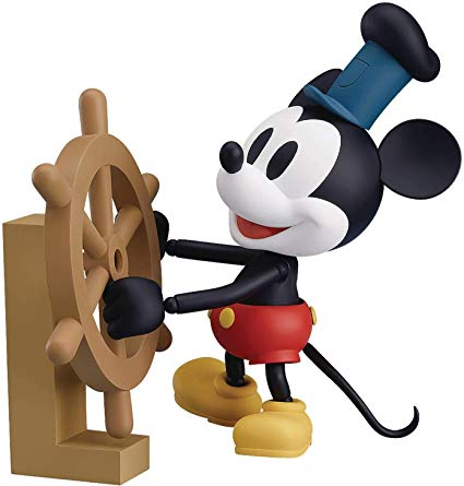 Nendoroid: Mickey Mouse #1010b - Steamboat Willie 1928 Ver. (Color)
