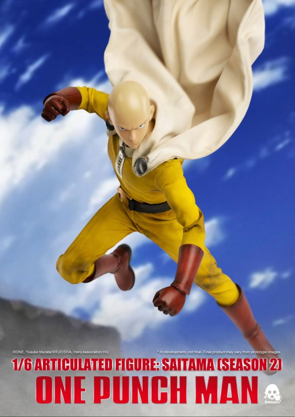 One Punch Man - Saitama (Season 2) 1/6 Scale Action Figure