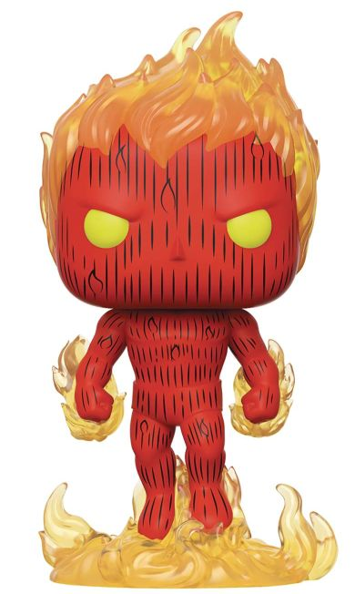 POP! Marvel Fantastic Four Human Torch