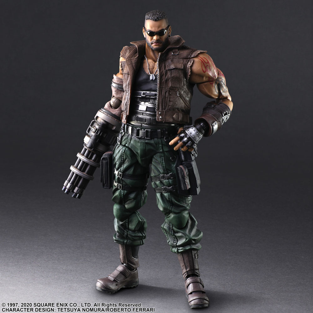 Play Arts -Kai- Final Fantasy VII Remake - Barret Wallace Ver. 2