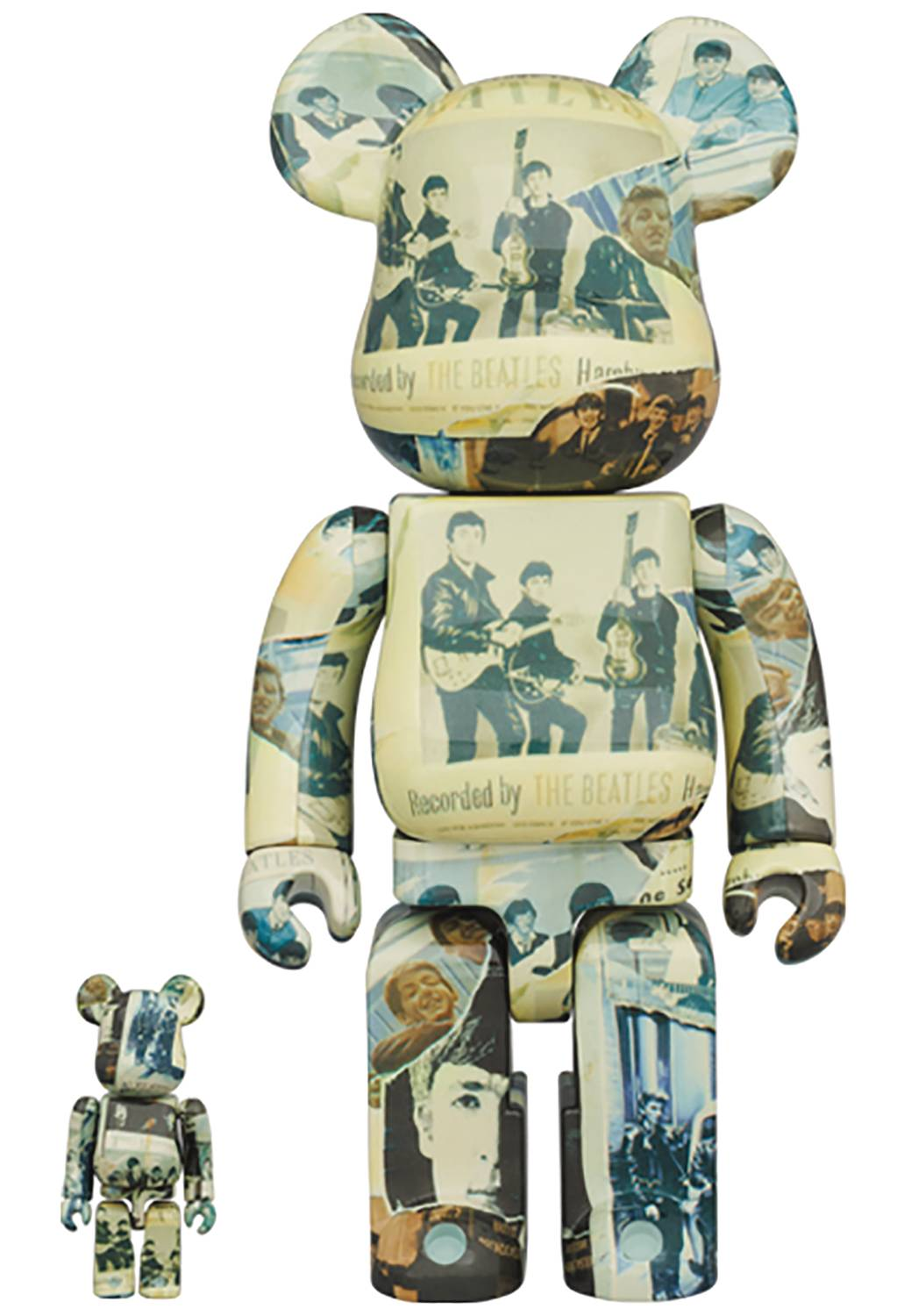 [Pre-Order] Bearbrick 400% + 100% The Beatles Anthology