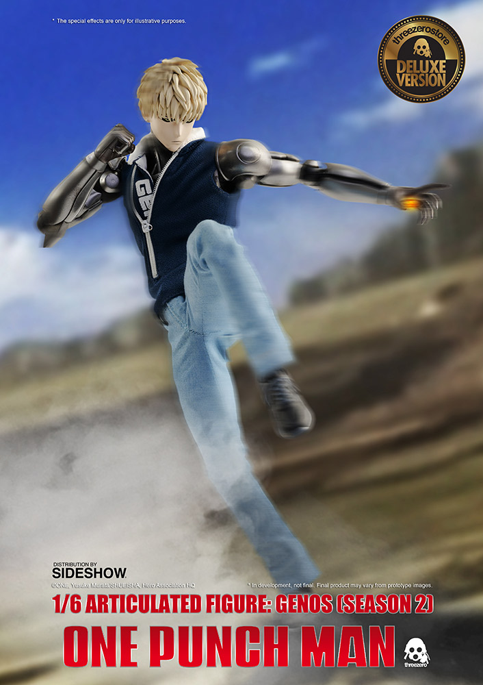 One Punch Man - Genos (Deluxe) (Season 2) 1/6 Scale Action Figure