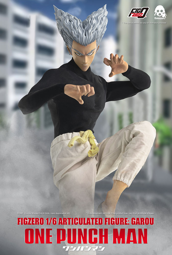 [Pre-Order] One Punch Man - Garou 1/6 Scale Action Figure